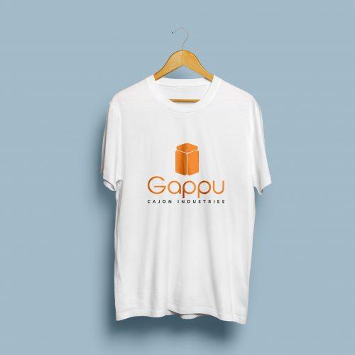 Gappu White T-Shirt Mockup